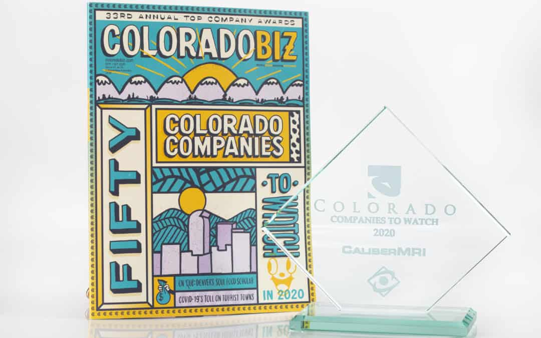 CaliberMRI Named a Colorado Companies to Watch Winner